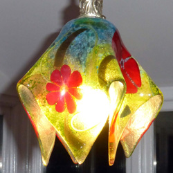 lighting art glass