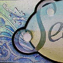 signs and text art glass