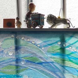 windows & screens - water art glass